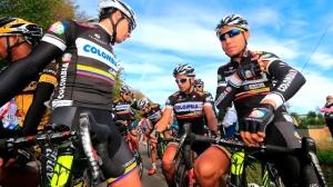 El Giro de Italia 2014 puede ser una de las paradas del Team Colombia (foto:ciclo21.com)