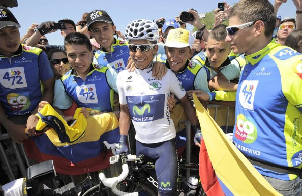 Nairo Quintana ejemplifica el auge de Latinoamérica en el ciclismo (foto:colombia.com)