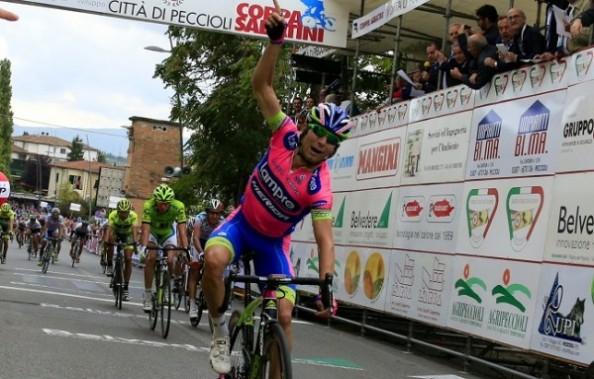 Ulissi ha sido el hombre con más victorias del conjunto Lampre-Merida (Foto: pelotoncafe.com)