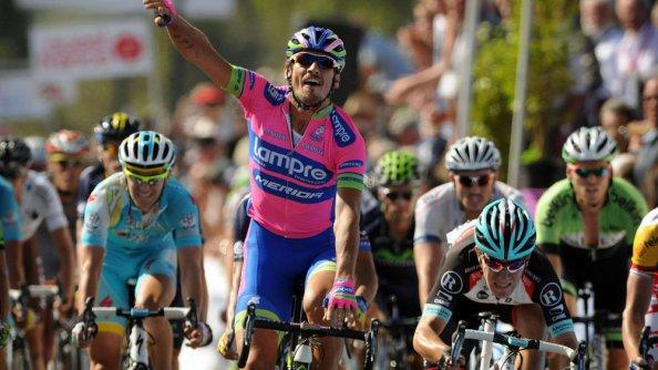 La victoria más importante de Pozzato en 2013, el GP Ouest France-Plouay.