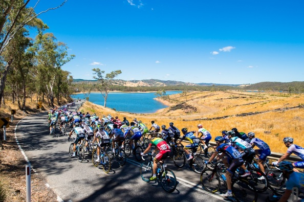 Tour Down Under 2013 - Stage 1 - Prospect to Lobethal - 135KM