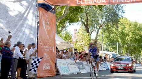 Contreras sorprendió a propios y extraños en la primera etapa (Foto:  Agencia San Luis).