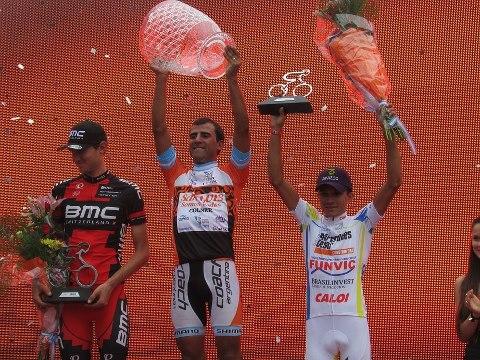 Dani Diaz conquistó el año pasado San Luis (foto:lahoradelciclismo.com.ar)