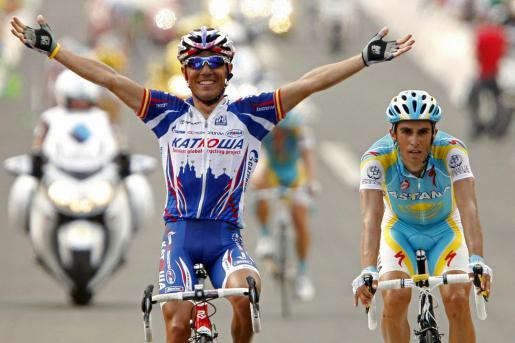 Su primer triunfo en el Tour de Francia