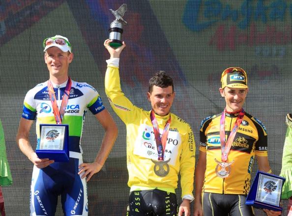 Arredondo ganó la edición de 2013 precediendo a Weening y a Pardilla
