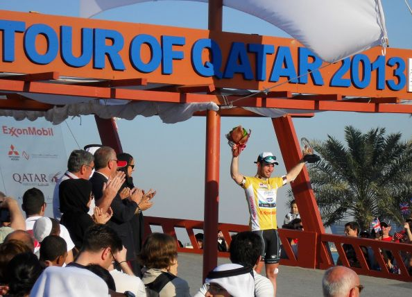 Cavendish acaparó todas las miradas en 2013 (foto:doha-expert.com)