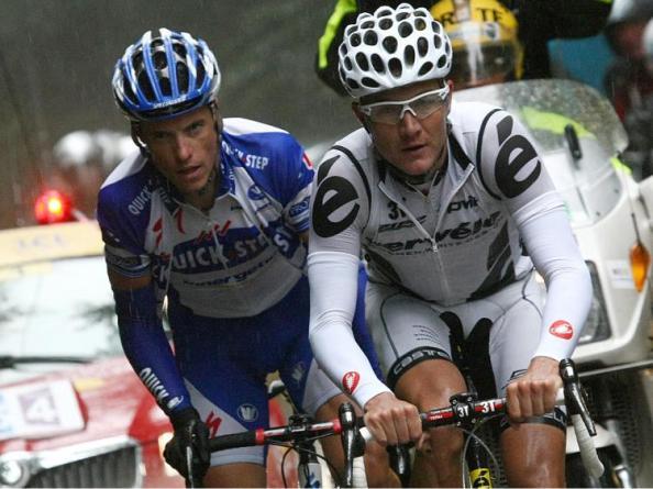 Haussler y Chavanel, que este año comparten escuadra.