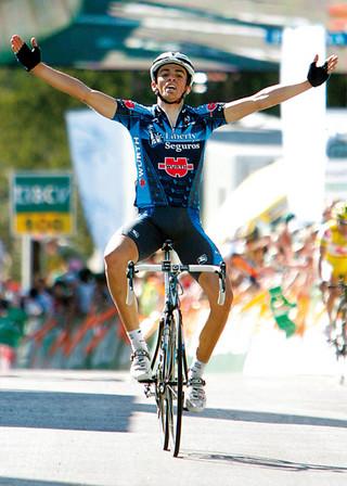 Alberto Contador, Tour de Romandia 2005 (foto:interviú.es)