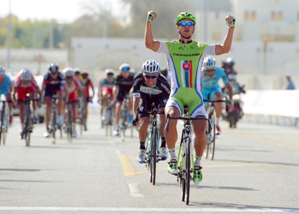 Peter Sagan trama algo, ha tardado mucho en ganar en 2014.