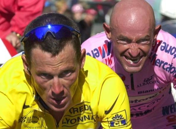 Armstrong y Pantani (foto:quadratv.blogspot.es)