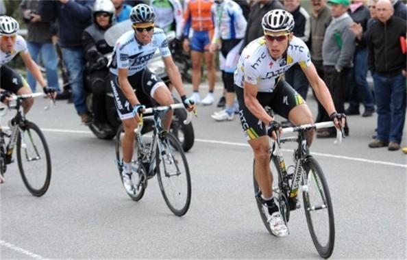 Tony Martin y Contador ya midieron sus fuerzas en el Algarve.