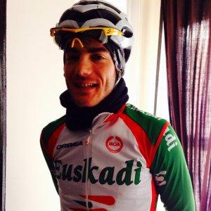 Pablo Lechuga estrena colores para 2014: los del equipo Euskadi (foto: Twitter)