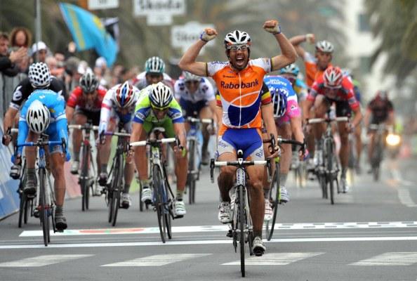 Freire eligió Tirreno en sus tres victorias en Milán-San Remo