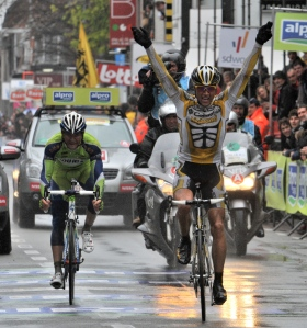 Edvald Boasson Hagen ganó la edición de 2009 de Gent-Wevelgem (foto:cyclingweekly.co.uk)