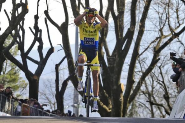 Contador en la pasada Tirreno (foto: cyclingkweekly.com)