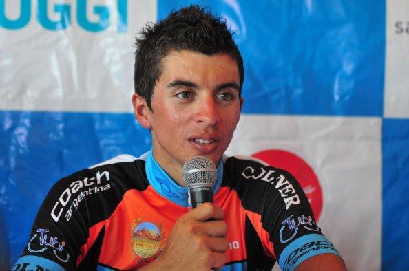 Sergio Godoy, a sus 25 años, es una de las estrellas argentinas en el mundo del ciclismo (foto:diarioestadio.com. ar)