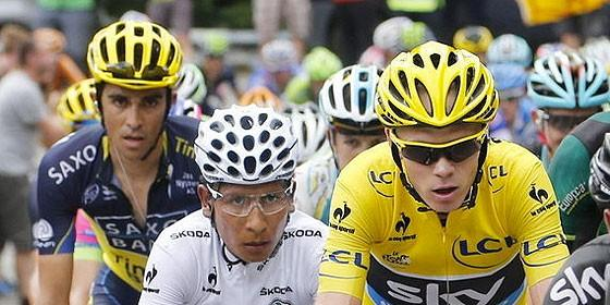 Froome, Quintana y Contador se han citado en la Volta.