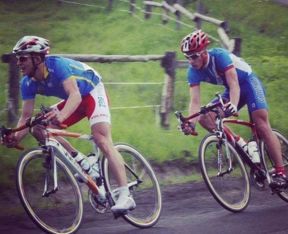 Kwiatkowski y Sagan, mano a mano, en 2008.
