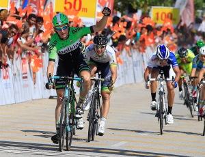 Bos fue el dominador de los sprints (foto:Orica Green Edge)