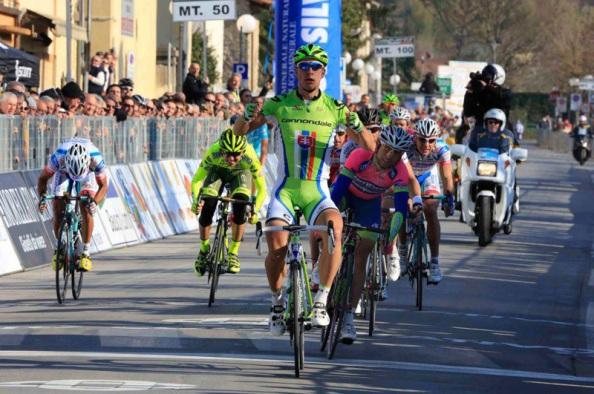 Sagan no podrá revalidar su título en Camaiore.