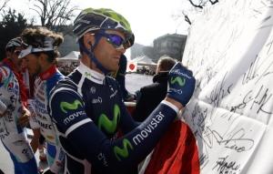 Rojas en Milán - San Remo 2011.