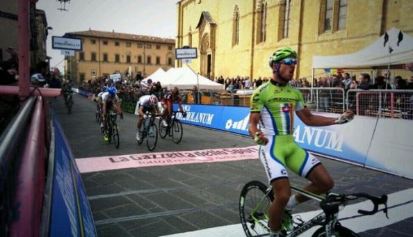 Sagan ha celebrado con rabia su victoria.